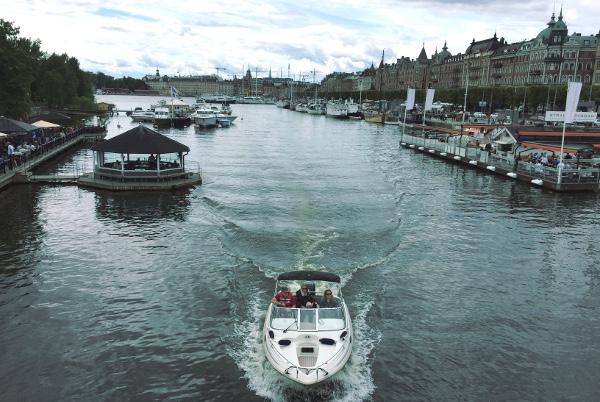 Veneilyä Tukholmassa