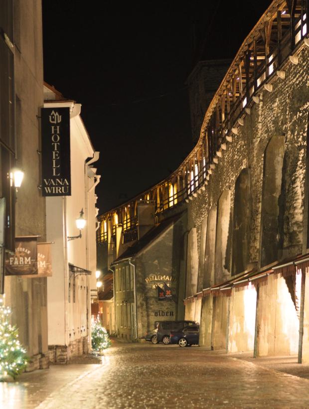 Tallinn night