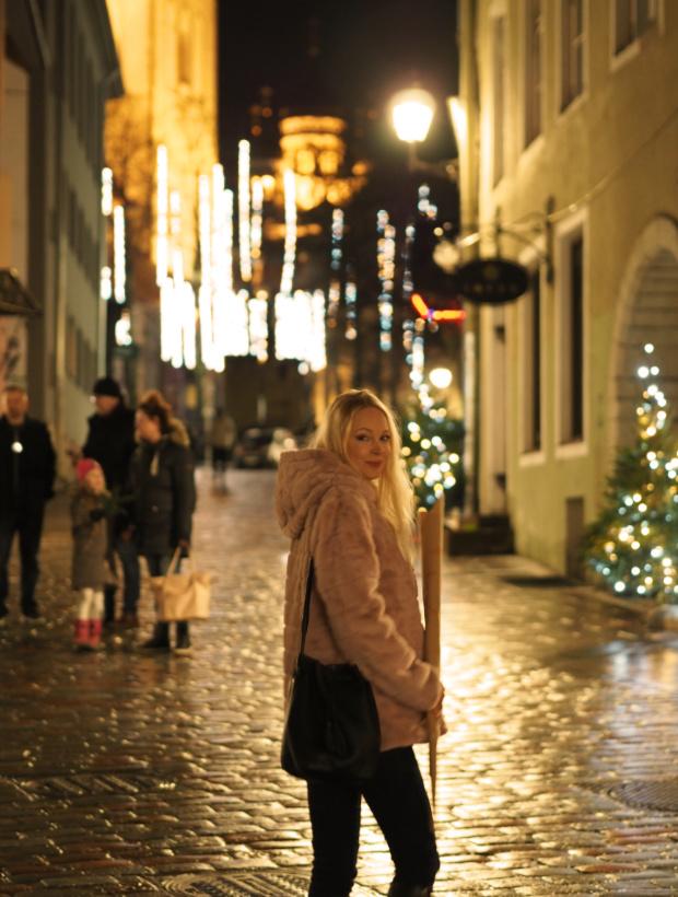 Strolling in Tallinn