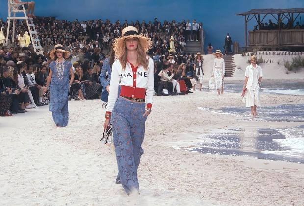 Chanel muotinäytös