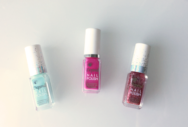 Swedish nail polish Depend.